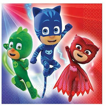 PJ Masks Lunch Napkins 16ct