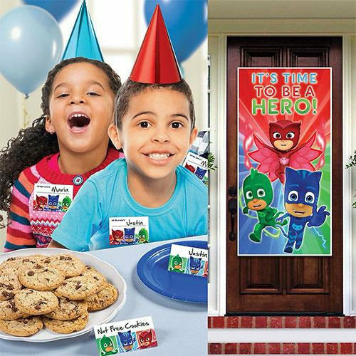PJ Masks Party Welcome Kit for 12 Guests