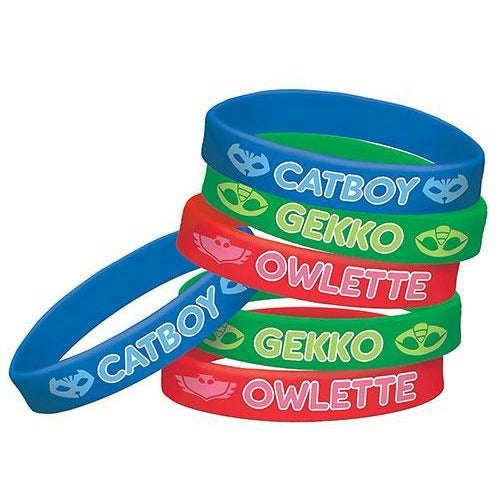PJ Masks Wristbands 6ct