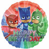 "157 PJ Masks Happy Birthday 17"" Mylar Balloon"