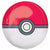 "220 Pokeball Pokemon Orbz 31"" Mylar Balloon"
