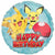 "160 Pokemon Happy Birthday 17"" Mylar Balloon"