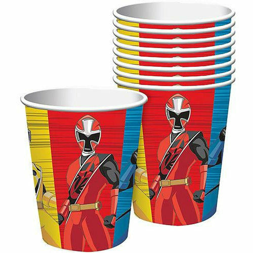 Power Rangers Ninja Steel Cups 8ct