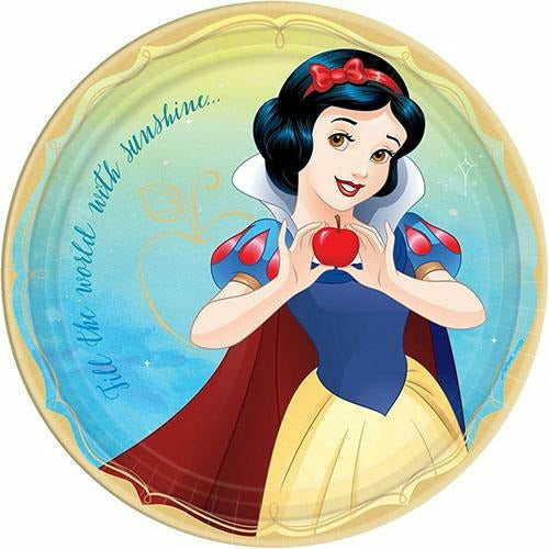 Princess Snow White Lunch Plates 8ct
