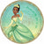 Princess Tiana Lunch Plates 8ct