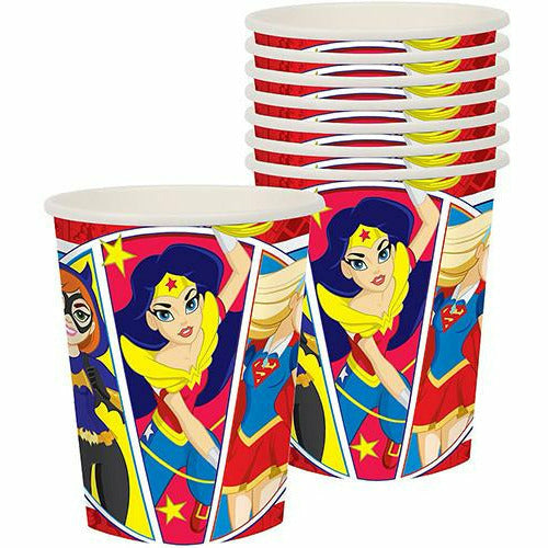 DC Super Hero Girls Cups 8ct