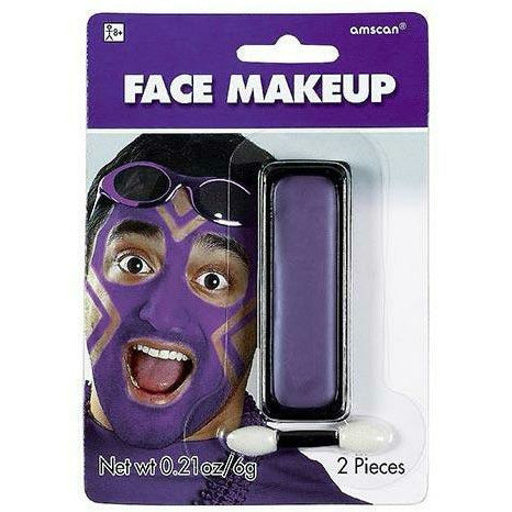 Purple Face Paint Makeup