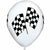 "Racing Flags 11"" Latex Balloon"