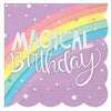 Magical Rainbow Birthday Beverage Napkins 16ct
