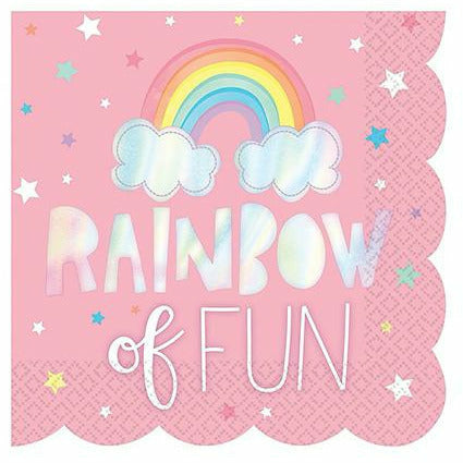 Magical Rainbow Lunch Napkins 16ct
