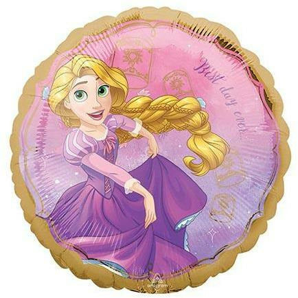 "111 Rapunzel Once Upon a Time 17"" Mylar Balloon"