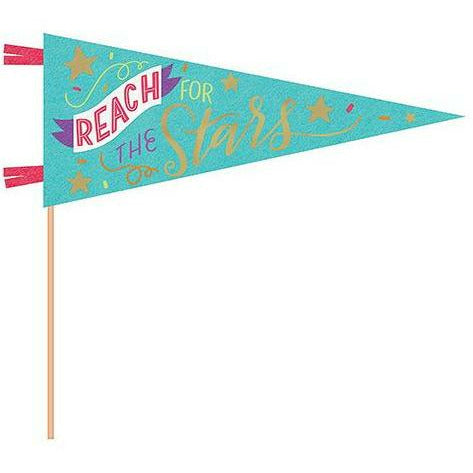 Reach For The Stars Pennant Flag