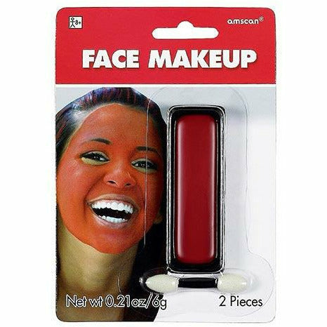 Red Face Paint Makeup