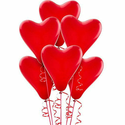 Red Heart Latex Balloons 6ct, 12in