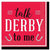 Red Derby Day Beverage Napkins 16ct