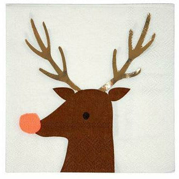 Reindeer Small Napkins
