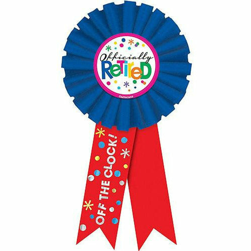 Happy Retirement Celebration Award Ribbon