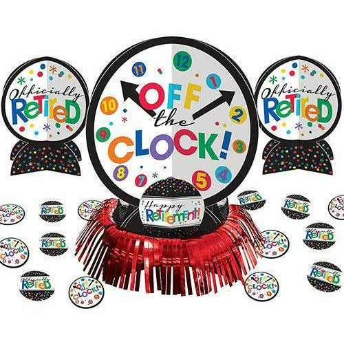 Happy Retirement Celebration Table Decorating Kit 23pc