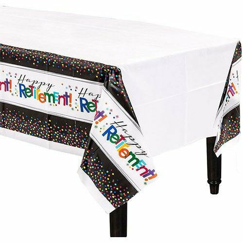 Happy Retirement Celebration Table Cover