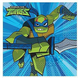 Rise of the Teenage Mutant Ninja Turtles Beverage Napkins 16ct