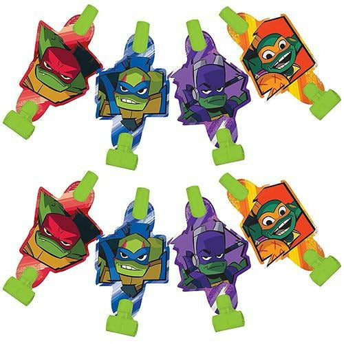 Rise of the Teenage Mutant Ninja Turtles Blowouts 8ct