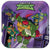 Rise of the Teenage Mutant Ninja Turtles Dessert Plates 8ct