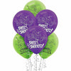 Rise of the Teenage Mutant Ninja Turtles Latex Balloons 6ct, 12""