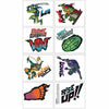 Rise of the Teenage Mutant Ninja Turtles Tattoos 1 Sheet