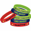 Rise of the Teenage Mutant Ninja Turtles Wristbands 6ct