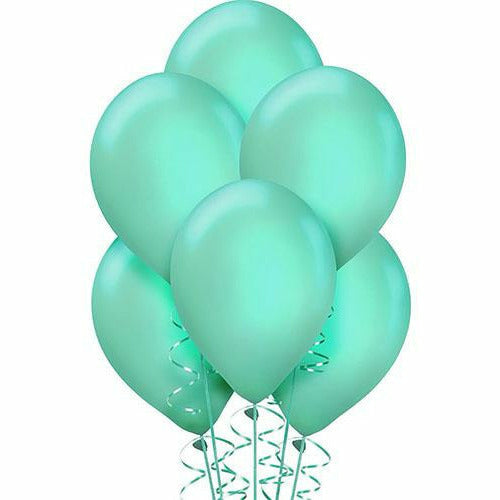 Robin's Egg Blue Pearl Balloons 15ct