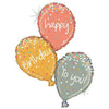 "346 Happy Birthday to You Jumbo 40"" Mylar Balloon"