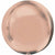 "088 Rose Gold Orbz 16"" Mylar Balloon"