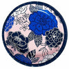 Royal Blue Floral Lunch Plates 8ct