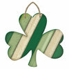 Rustic Striped Shamrock Sign
