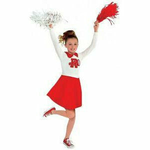 Girls Grease Rydell Cheerleader Dress