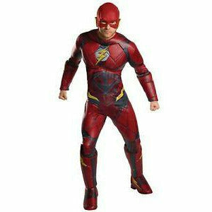 Mens Deluxe Adult Flash Costume