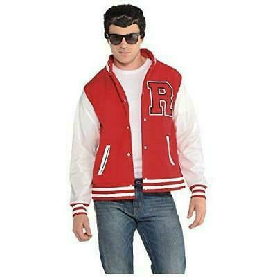 Men's Letterman Jacket Adult Costume