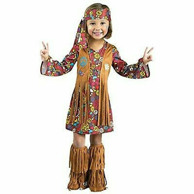 Girls Toddler Hippie Costume