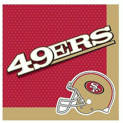 San Francisco 49ers Lunch Napkins 36ct