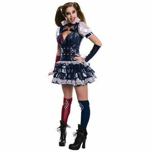 Womens Harley Quinn Secret Wishes Dress Costume