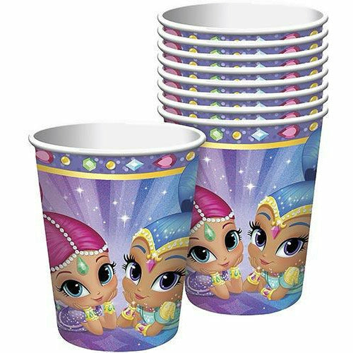 Shimmer and Shine Cups 8ct