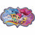 "143 Shimmer and Shine Jumbo 31"" Mylar Balloon"