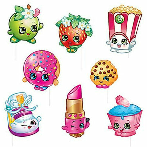 Shopkins Photo Booth Props