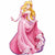 "125 Sleeping Beauty Jumbo 34"" Mylar Balloon"
