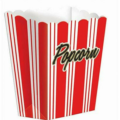 Small Movie Night Popcorn Boxes 8ct