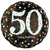 "467 Sparkling 50 Happy Birthday 17"" Mylar Balloon"