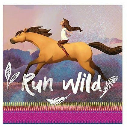 Spirit Riding Free Lunch Napkins 16ct