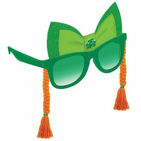 St. Patrick's Day Sunglasses with Braids