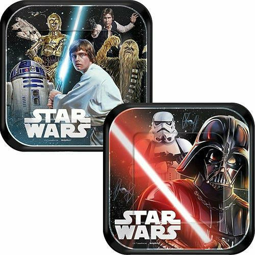 Star Wars Dessert Plates 8ct