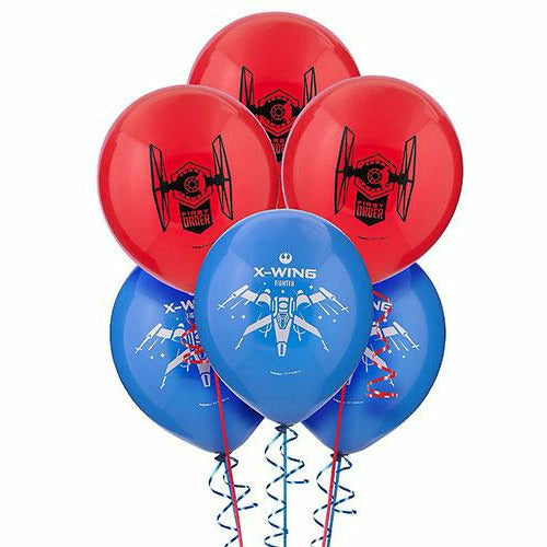 Star Wars 7 The Force Awakens Balloons 6ct